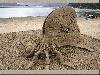 sabbia, varie, arte, castelli, opere, manualità, mare, spiaggia