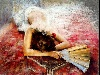 dipinti, arte, disegno, donne, vita, natura, espressione