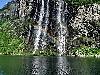 fiordo, castiere, mare, erosione, caduta, massi