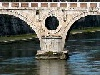 ponti, roma, lucchetti, storia, tevere, antico