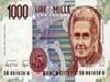 parte, montessori, marco polo, 1000 lire, una lira, valute, cambi