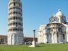 torre pende piazza miracoli giardino battistero
