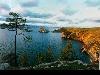 lago, paesaggi, vista, viosione, acqua, Buriazia, russia, mongolo