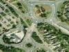 attenzione, rotonde, rotatorie, traffico, urbano, strane, multilivello