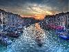 canali pitture scene ponti acqua alta san marco